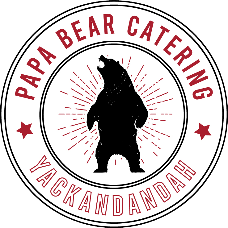 Papa-bear-catering-badge